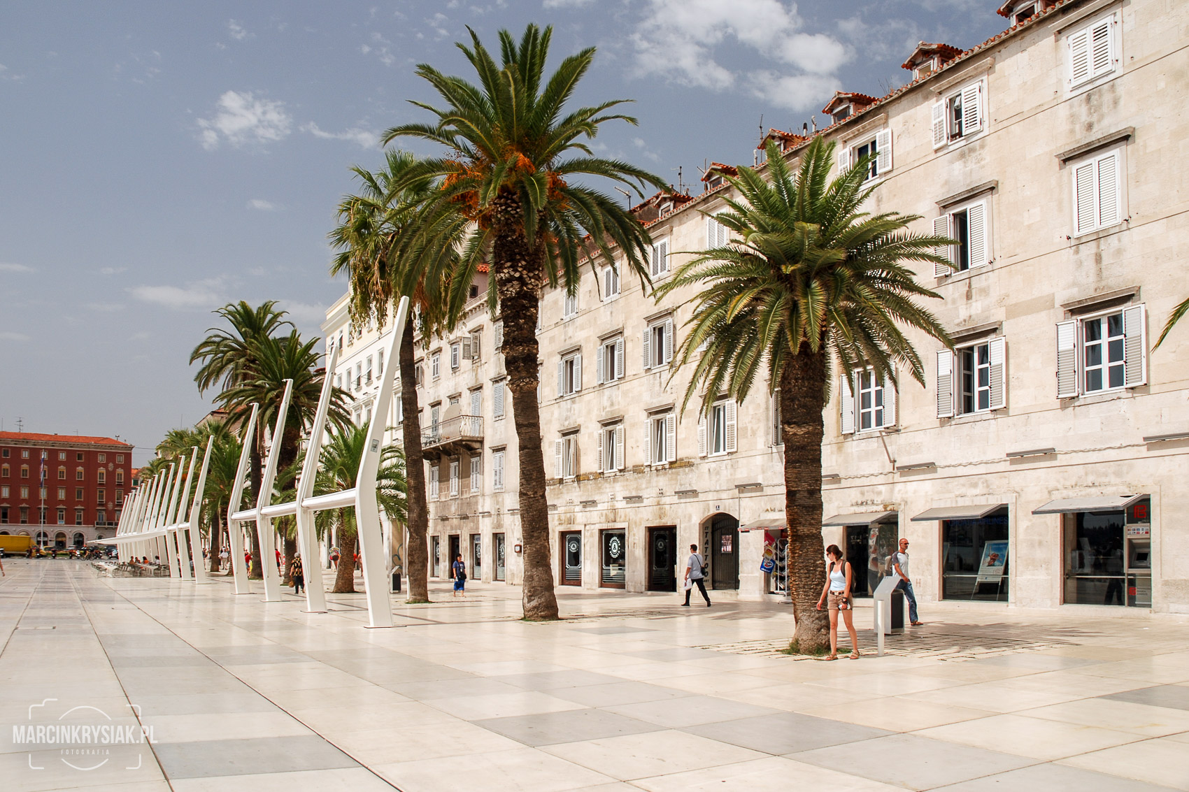 promenade, old city, Split, Croatia