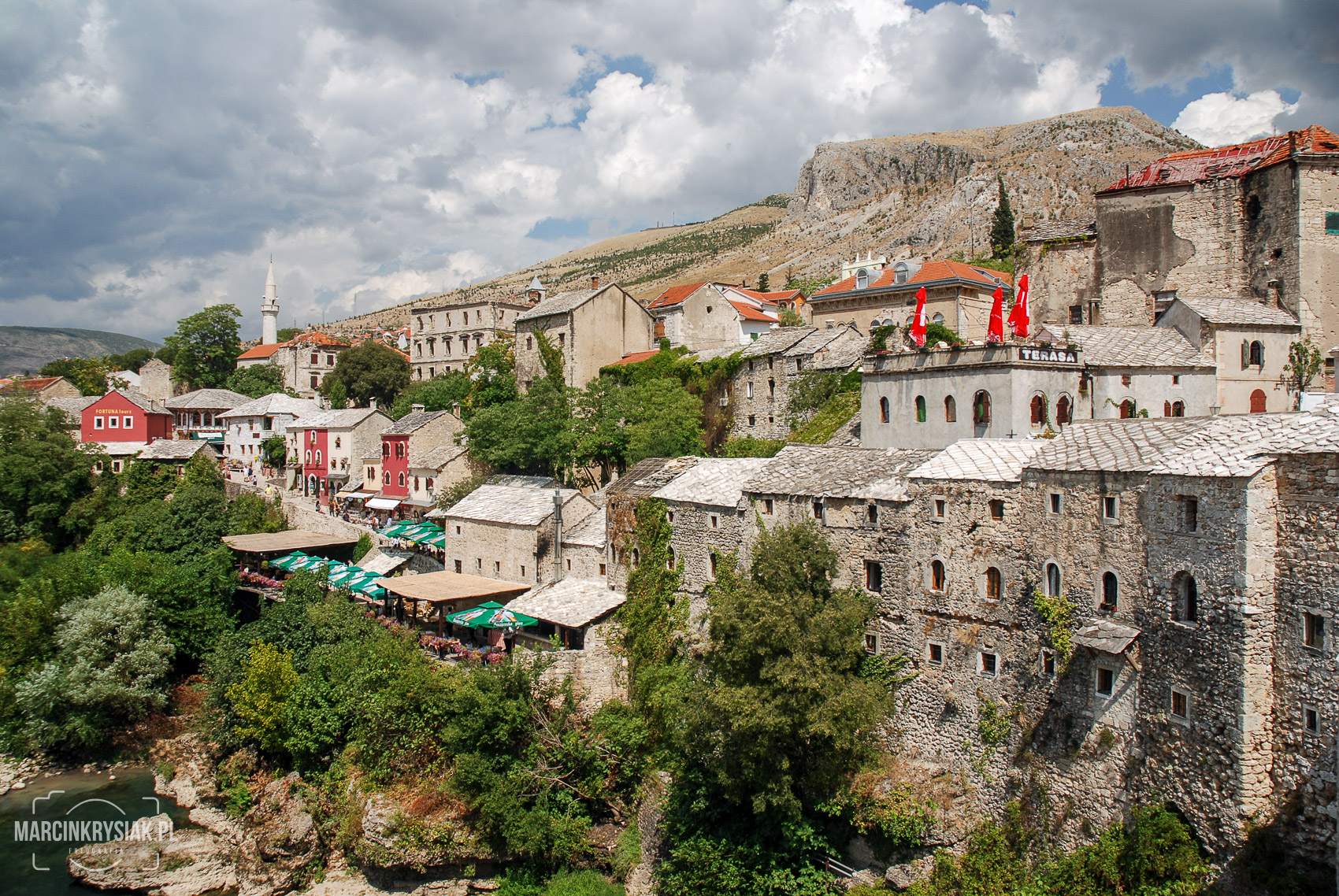 sky, cloud, old, city, town, Mostar, Bosnia i Herzegovina