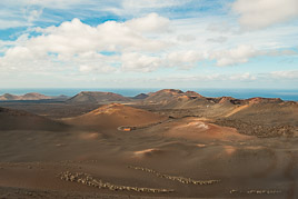 Canary Islands - Lanzarote - Parque Nacional de Timanfaya - november 2014
