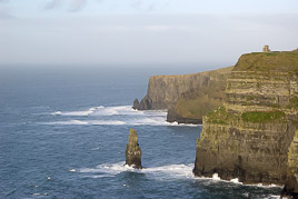 Republic of Ireland - Cliffs of Moher - january 2007